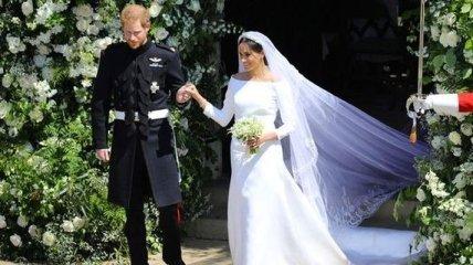 Эксперты рассказали, какая судьба ждет свадебное платье Меган Маркл