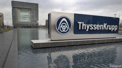 Глава немецкого концерна ThyssenKrupp подал в отставку