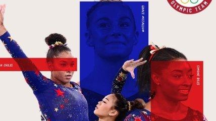 Американские гимнастки драматично упустили победу в командном первенстве на Олимпийских играх