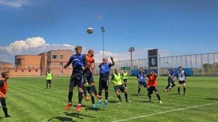 Черноморец провел тренировочный матч (Видео)