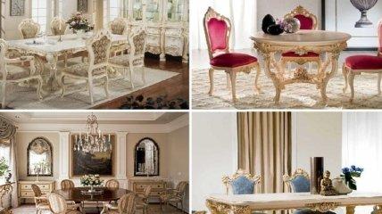 Дизайн столовых в роскошном викторианском стиле (Фото)