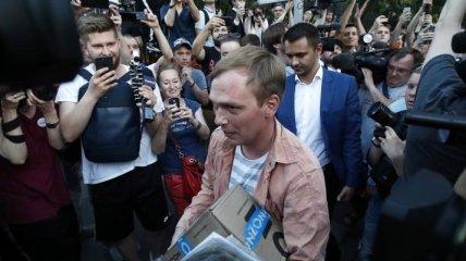 В России журналисту Голунову предоставили защиту