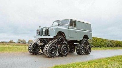 Невероятно редкий Land Rover Series II на гусеницах (Фото)