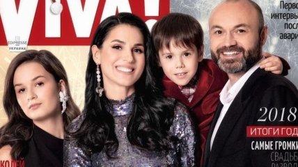 Украинская телеведущая Маша Ефросинина показала съемки семейной фотосессии