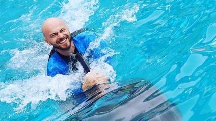 Влад Яма в дельфинарии