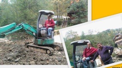 Виктор Ющенко пересел на трактор