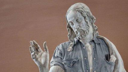 Новый стиль классических скульптур - хипстер в моде (Фото)