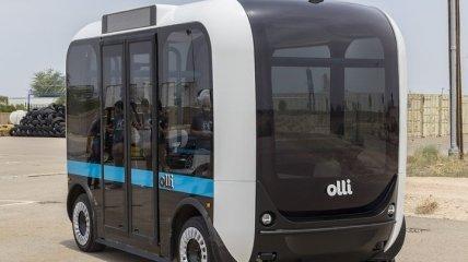 В США на 3D принтере напечатали беспилотный автобус Olli