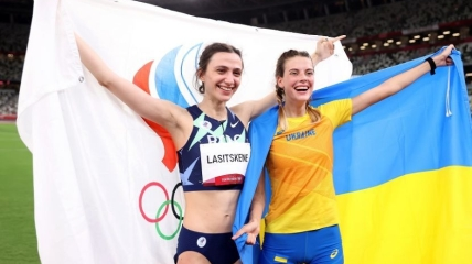Мария Ласицкене и Ярослава Магучих на Олимпиаде в Токио