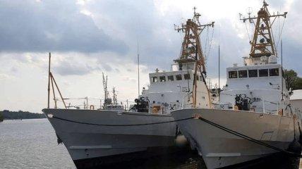 Стало известно, когда ВМС Украины освоят подаренные катера Island