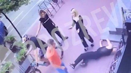 Напад на танцюриста Наді Дорофєєвої: в мережі з'явилося відео неадекватної поведінки УДОшника