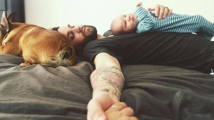До слез милые снимки, иллюстрирующие отцовскую любовь (Фото)