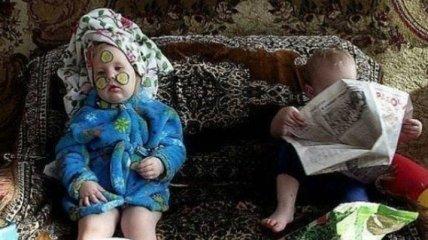 Веселые детишки, с которыми точно не соскучишься