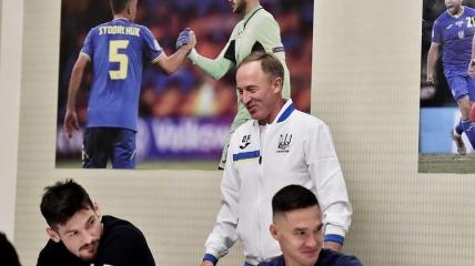 Александр Петраков впервые встретился со своими подопечными из сборной Украины