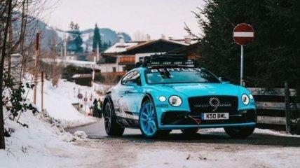 Компания Bentley придумала внедорожную модификацию купе Continental GT