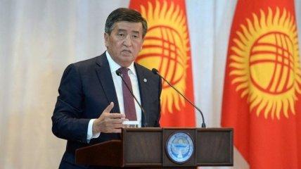 Жээнбеков: Реформы в Киргизии должны продолжаться