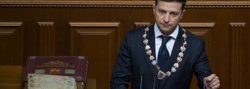 Зеленский не отвечает на вопрос о втором президентском сроке