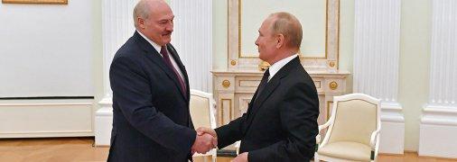 Лукашенко і Путін провели чергову зустріч