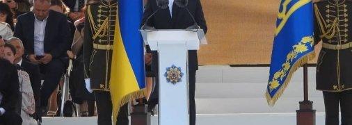 Владимир Зеленский на праздновании Дня Независимости