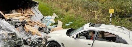 За рулем был водитель в состоянии алкогольного опьянения